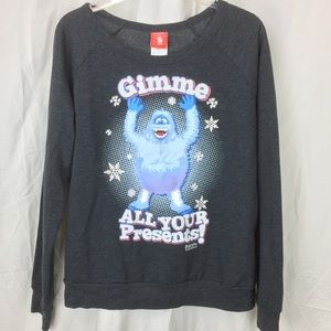 Abominable Snowman from Rudolph TRNR Sweatshirt